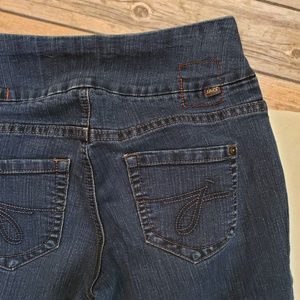 Jag Jeans Slim Leg Pull On Up Dark Stretch Size 4P
